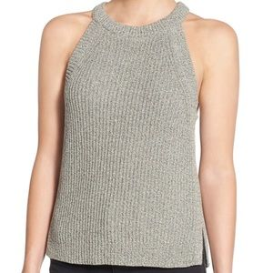 Madewell Marled Sweater Tank: Size Medium